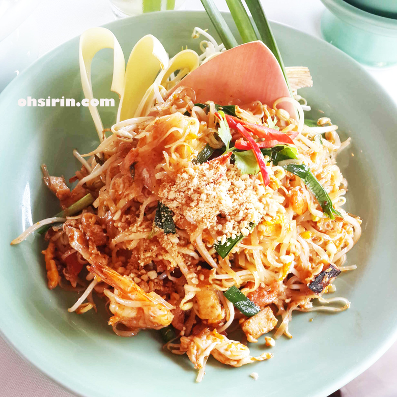 Pad Thai at Inn Chan Restaurant of Sampran Riverside in Nakorn Pathom